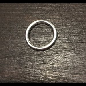Pandora smooth stackable ring size 5.5